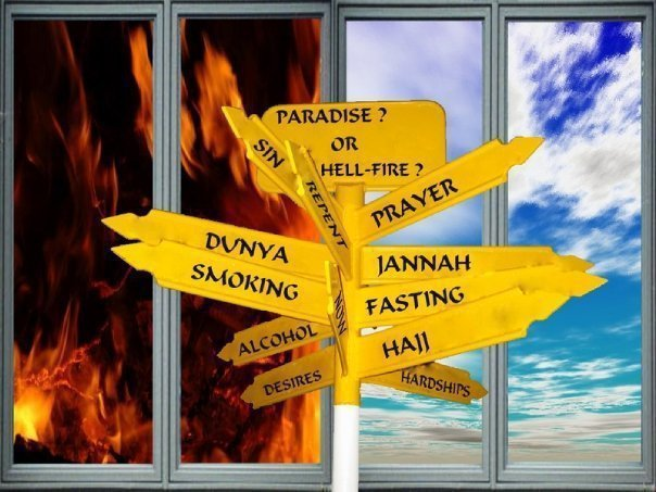 Image result for jannah and jahannam